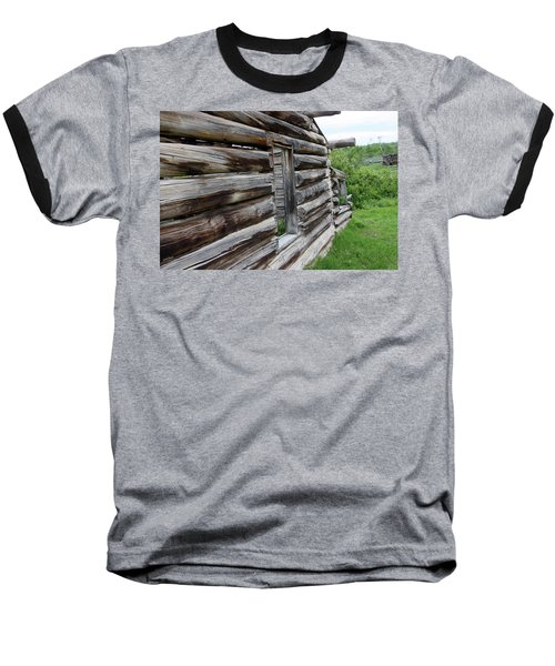 Outside Cabin Window Baseball T-Shirt