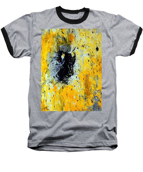 Outside Looking In Baseball T-Shirt by Everette McMahan jr