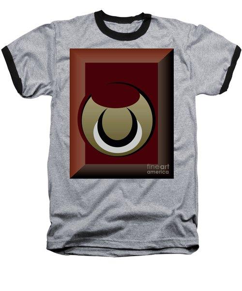 Baseball T-Shirt featuring the digital art Outside The Box by John Krakora