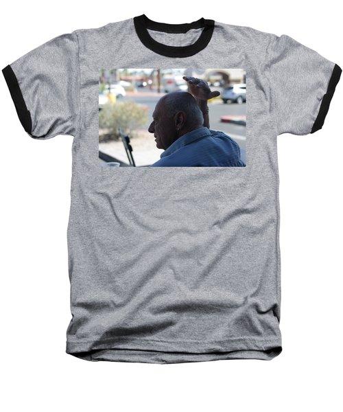 Outside The Cafe Baseball T-Shirt