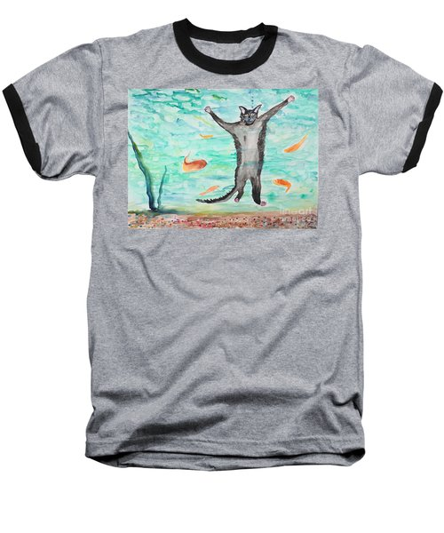 Outside The Fish Tank Baseball T-Shirt