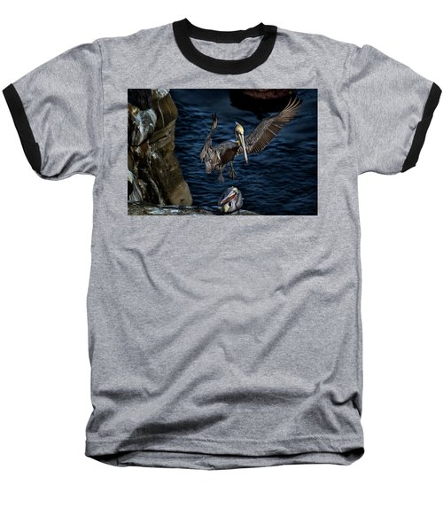 Outstretched Wings Baseball T-Shirt