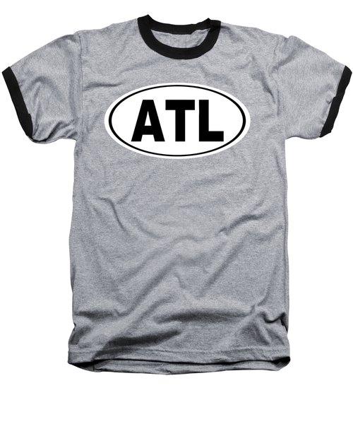 Baseball T-Shirt featuring the photograph Oval Atl Atlanta Georgia Home Pride by Keith Webber Jr