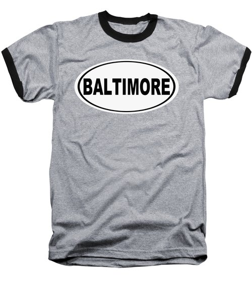 Baseball T-Shirt featuring the photograph Oval Baltimore Maryland Home Pride by Keith Webber Jr
