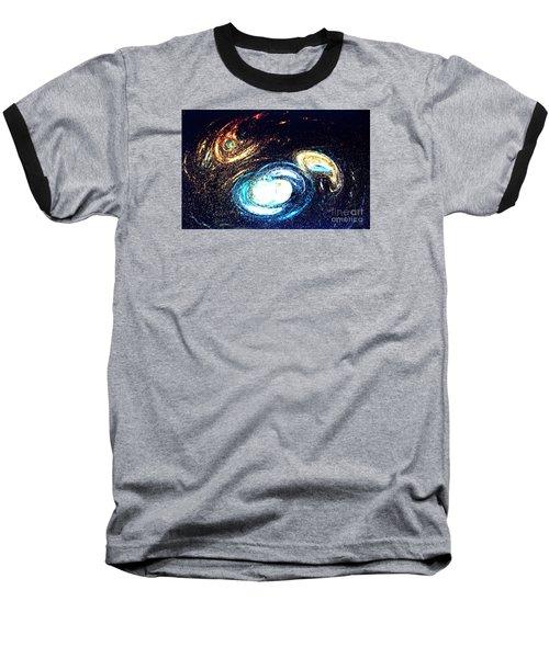 Baseball T-Shirt featuring the photograph Oval Dream - Modern Art by Merton Allen
