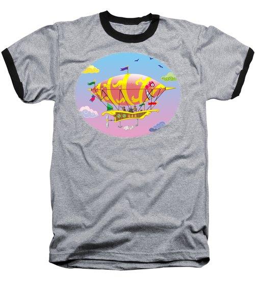 Dreamship II Baseball T-Shirt