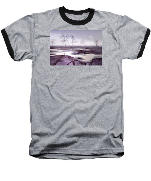 Over And Over Again Baseball T-Shirt by Diana Angstadt
