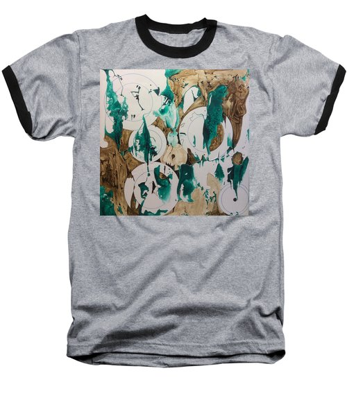 Over And Under Baseball T-Shirt by Pat Purdy