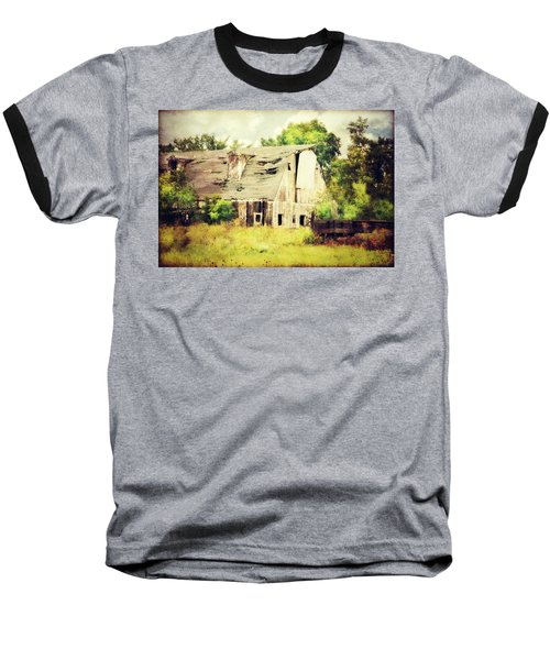 Baseball T-Shirt featuring the photograph Over Grown by Julie Hamilton