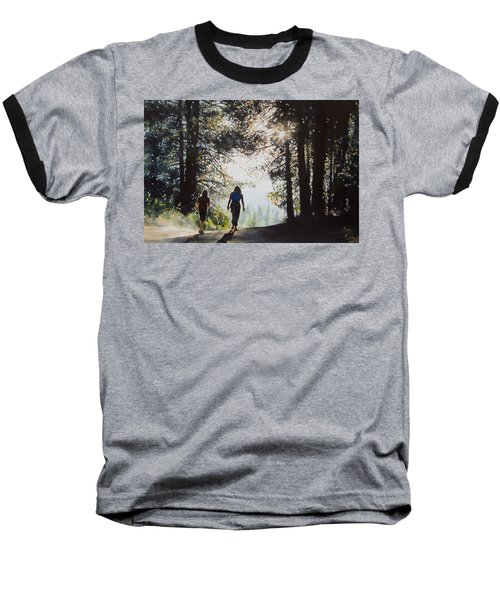 Over The Hills Baseball T-Shirt