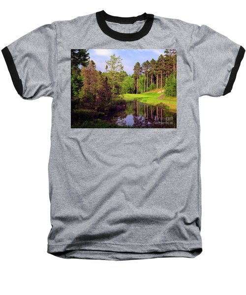 Over The Pond Baseball T-Shirt