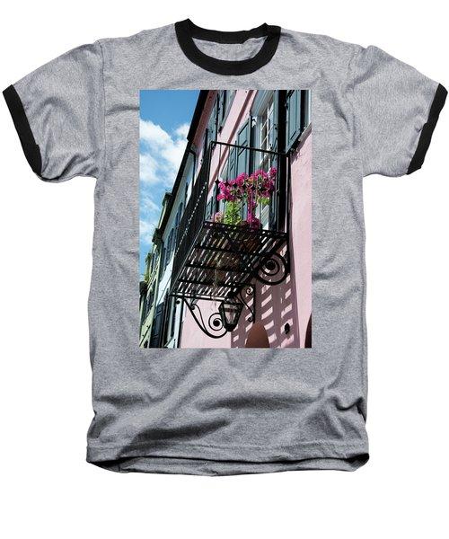 Over The Rainbow Baseball T-Shirt by Ed Waldrop