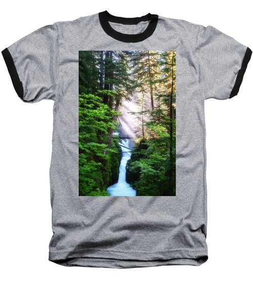 Over The River And Through The Woods Baseball T-Shirt