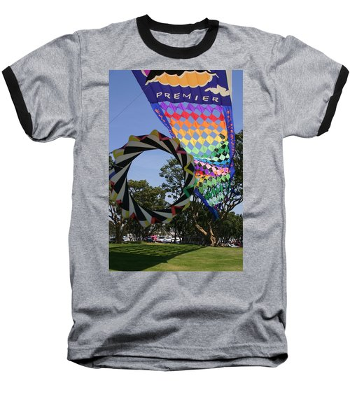 Baseball T-Shirt featuring the photograph Over Under Sideways Down by Marie Neder