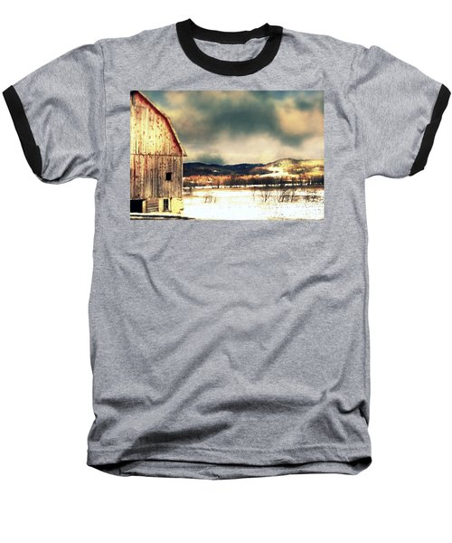 Baseball T-Shirt featuring the photograph Over Yonder by Julie Hamilton