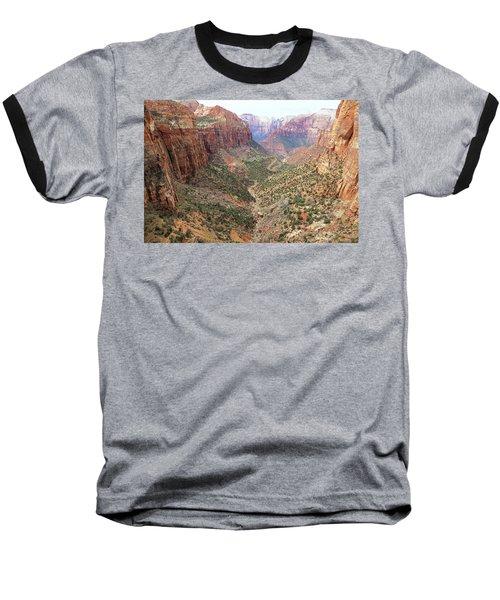 Overlook Canyon Baseball T-Shirt