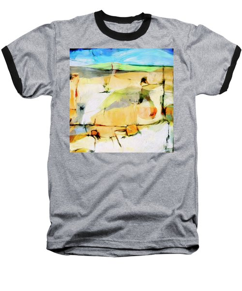 Baseball T-Shirt featuring the painting Overlook by Dominic Piperata