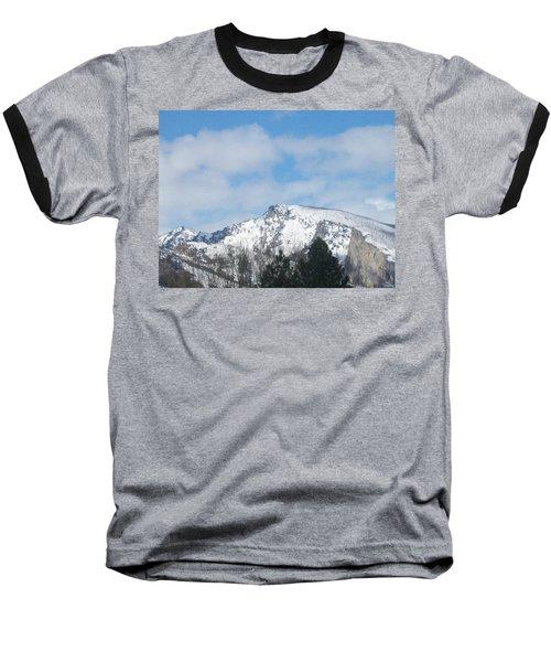Overlooking Blodgett Baseball T-Shirt