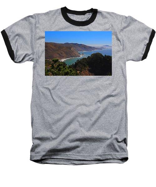 Overlooking Marin Headlands Baseball T-Shirt