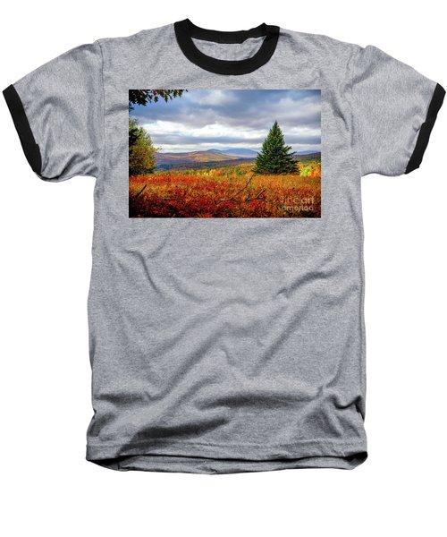 Overlooking The Foothills Baseball T-Shirt