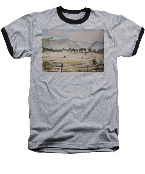 Overlooking The Hills Baseball T-Shirt