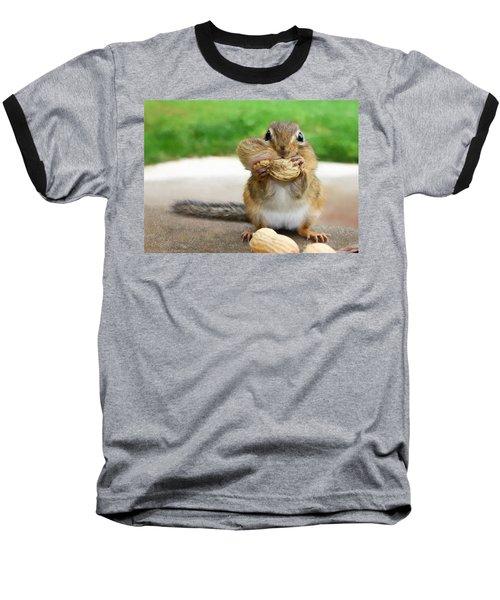 Overstuffed Baseball T-Shirt by Lori Deiter