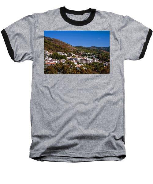 Baseball T-Shirt featuring the photograph Overview Of Mijas Village by Jenny Rainbow