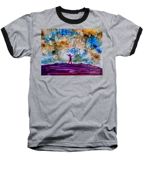 Overwhelmed Baseball T-Shirt