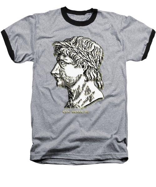 Baseball T-Shirt featuring the digital art Ovid by Asok Mukhopadhyay