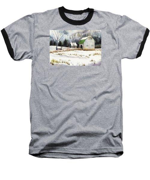 Owen County Winter Baseball T-Shirt by Katherine Miller