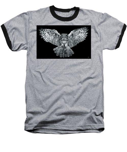 Owl 1 Baseball T-Shirt