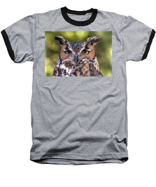 Owl Eyes Baseball T-Shirt