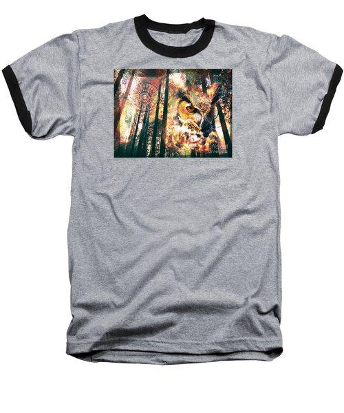 Owl Medicine 2015 Baseball T-Shirt