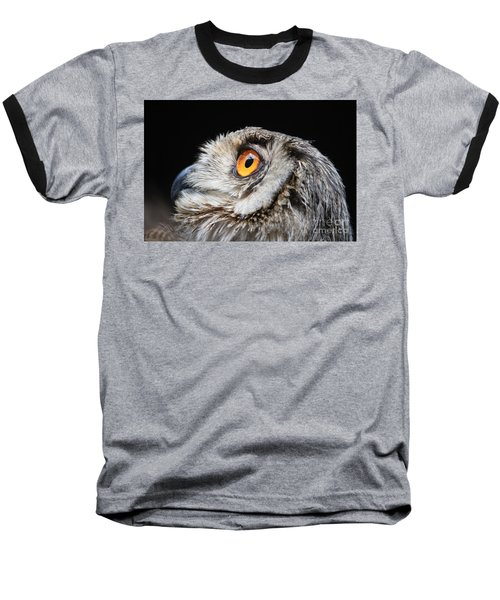 Owl The Grand-duc Baseball T-Shirt