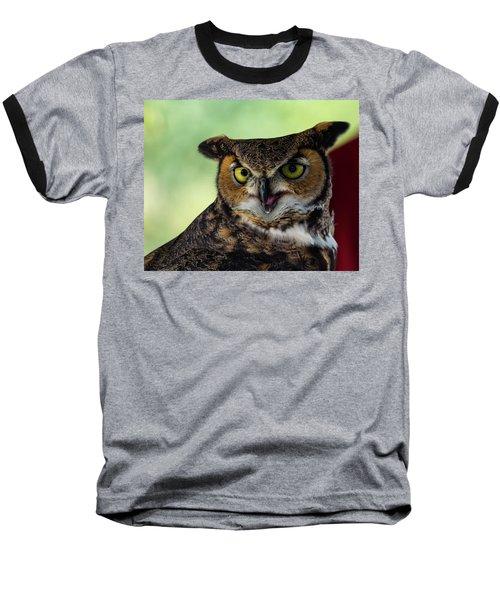 Owl Tongue Baseball T-Shirt