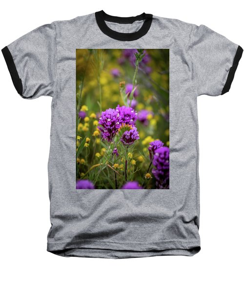 Baseball T-Shirt featuring the photograph Owl's Clover by Peter Tellone