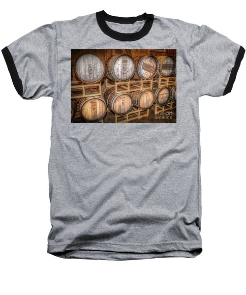 Owl's Eye Winery Baseball T-Shirt