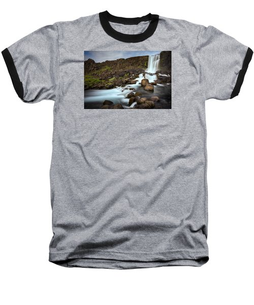Oxararfoss Baseball T-Shirt