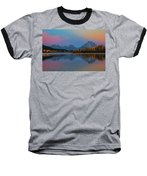 Oxbows Reflections Baseball T-Shirt