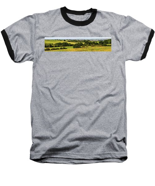 Oxford Spires And Countrysidepanorama Baseball T-Shirt by Ken Brannen
