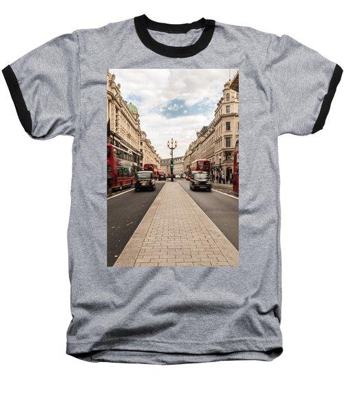 Oxford Street In London Baseball T-Shirt