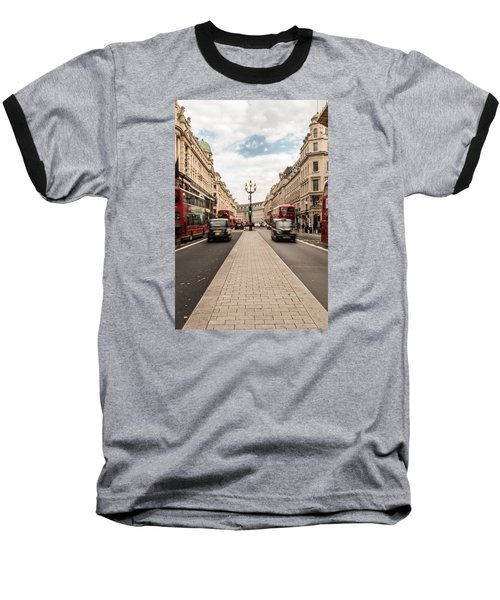 Oxford Street In London Baseball T-Shirt