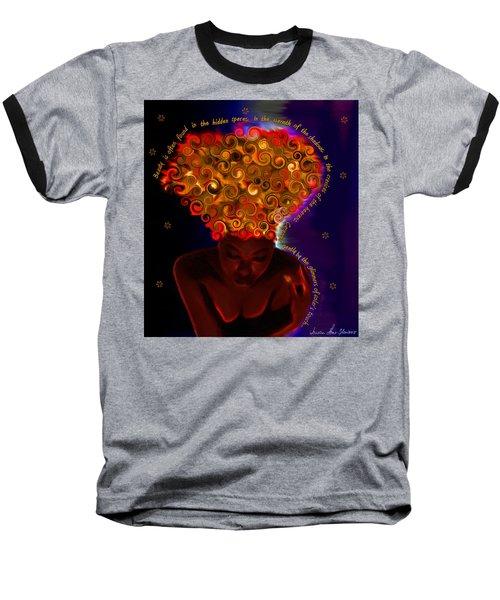 Oya Baseball T-Shirt by Iowan Stone-Flowers