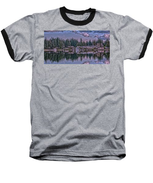 Oyster Bay 1 Baseball T-Shirt by Timothy Latta