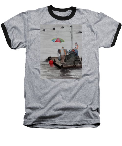 Oystering On Tomales Bay Baseball T-Shirt