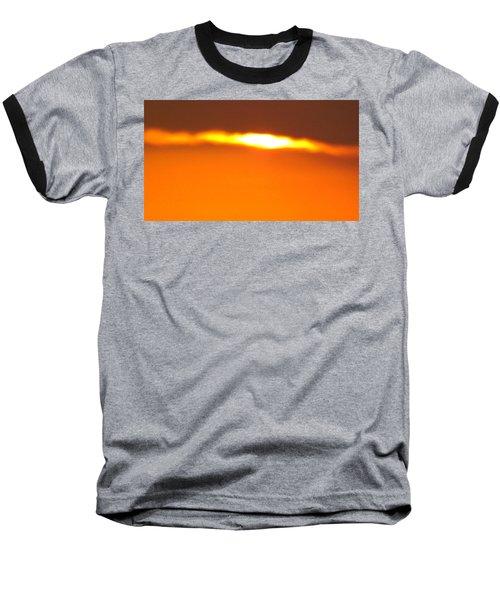 Ozark Sunset 2 Baseball T-Shirt by Don Koester