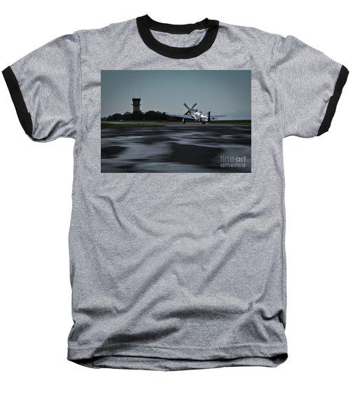 P-51  Baseball T-Shirt by Douglas Stucky