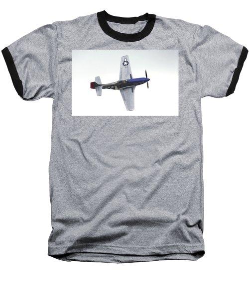 P-51 D Wing Over Baseball T-Shirt
