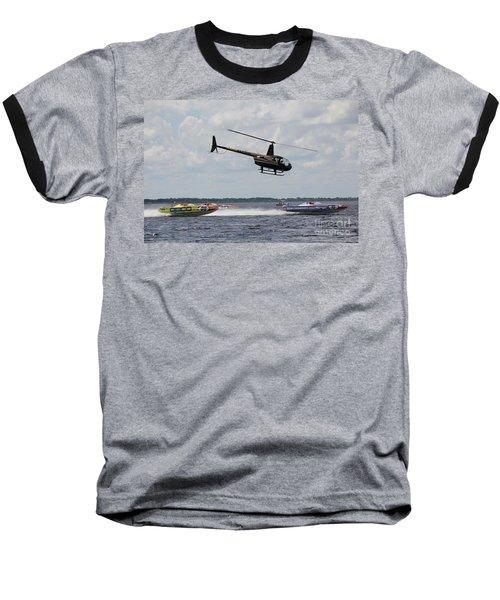 P1 Powerboats Baseball T-Shirt