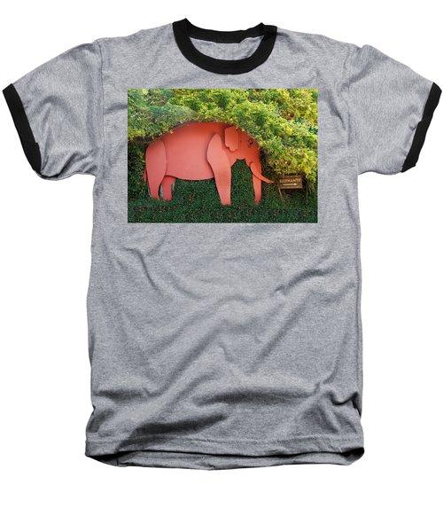Pachyderm Sign Baseball T-Shirt